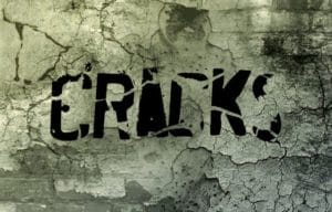 What causes cracked walls and how to repair them