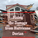 Fixing the Damage from Hurricane Dorian