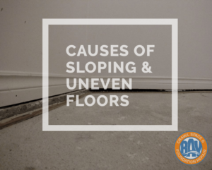 Sloping Uneven Floors