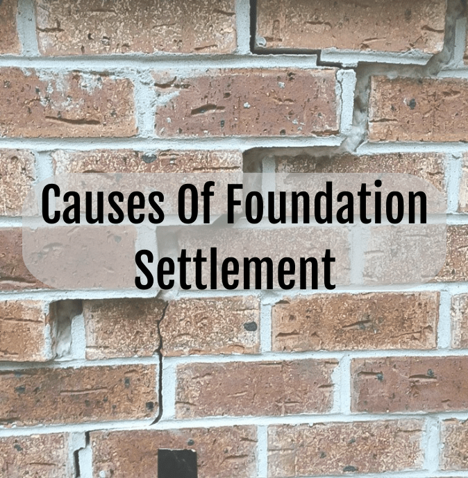 causes foundation settlement