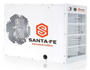 Santa Fe Advance crawl space dehumidifier