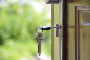 how to fix a sticking door